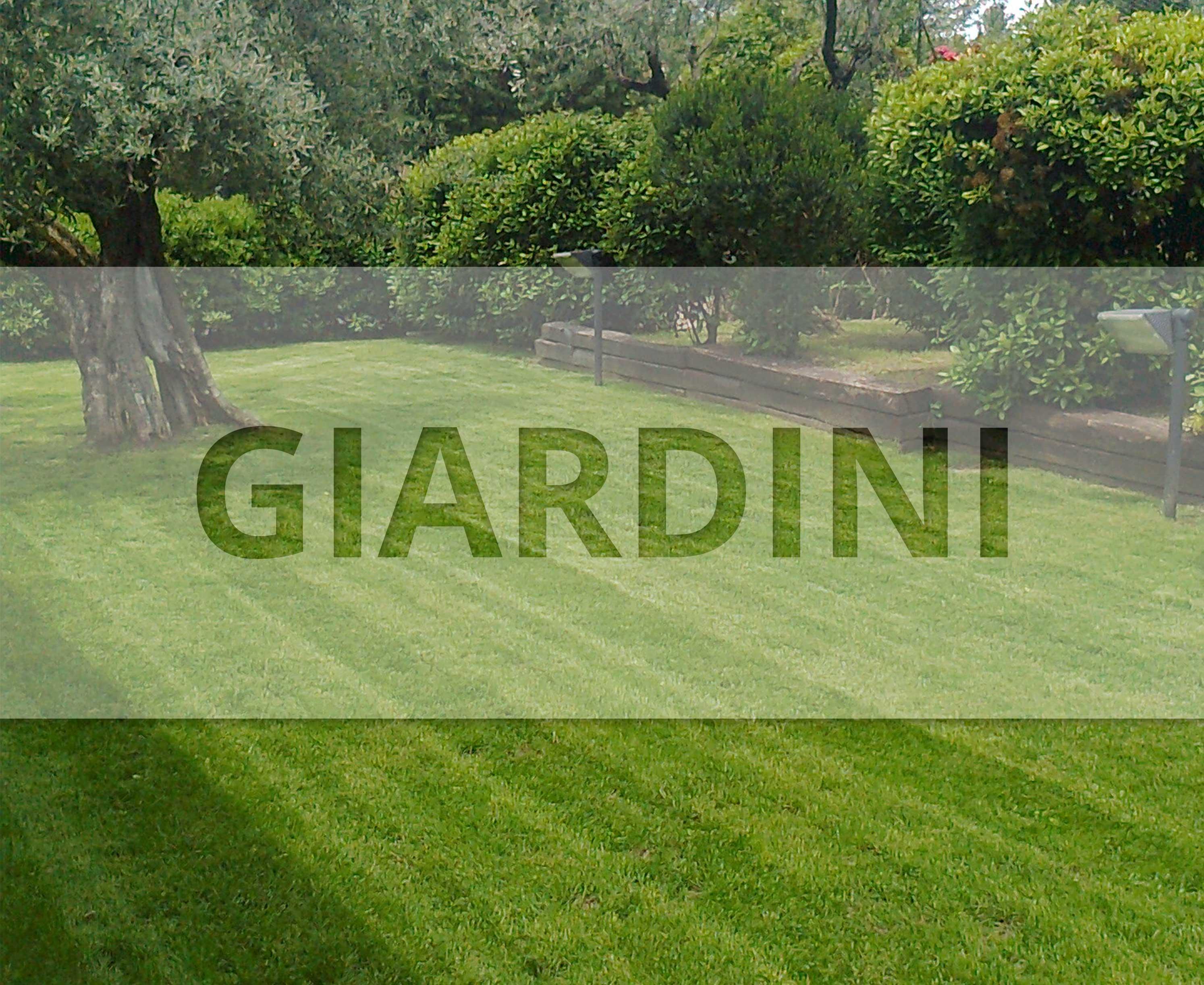 Verde giardino giardini in erba sintetica e naturale